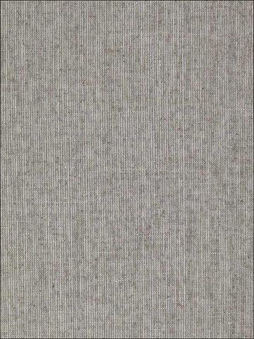 Flax Weave Wallpaper in Grey from the Sheer Intuition Collection by Burke Decor