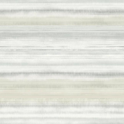Fleeting Horizon Stripe Wallpaper in Tan from the Impressionist Collection by York Wallcoverings