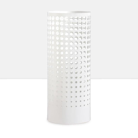 Floating Dot Cutout Umbrella Stand - White