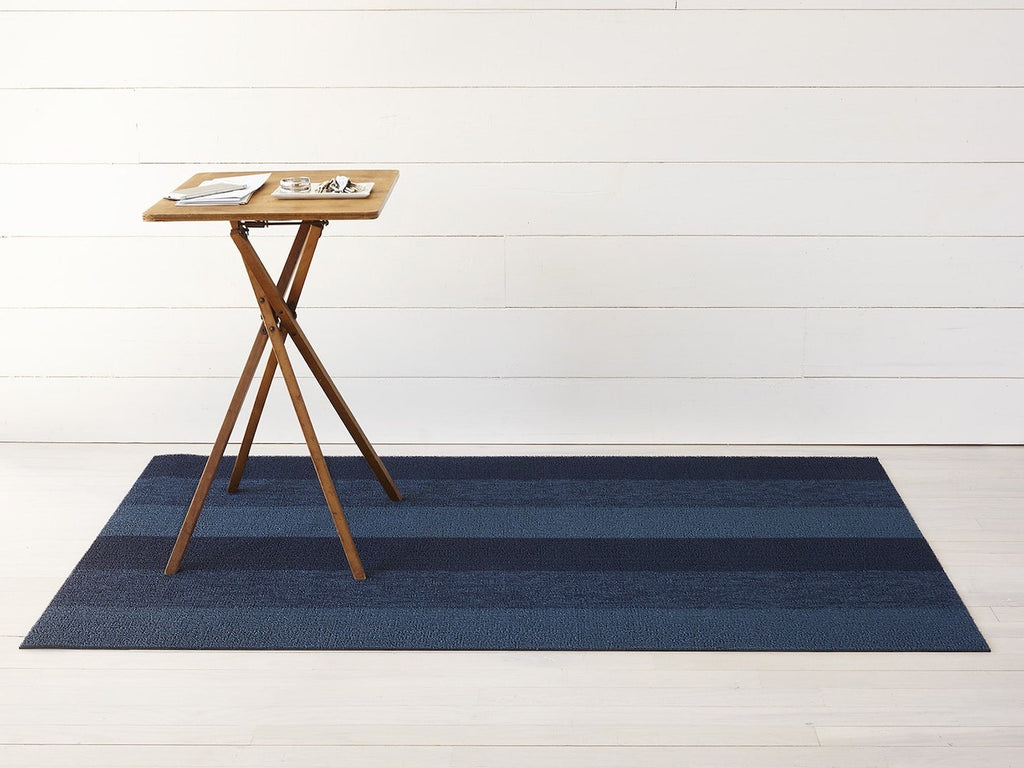 Marbled Stripe Shag Mat by Chilewich
