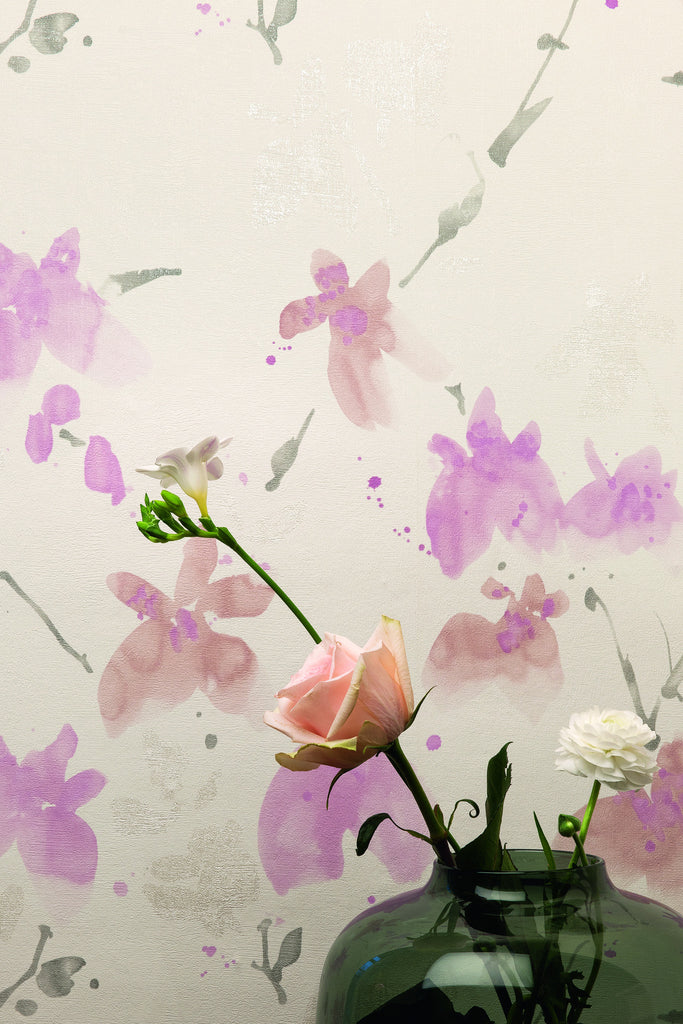 Floral Blossom Wallpaper design by BD Wall