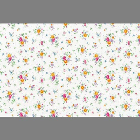 Floral Contact Wallpaper in Multi by Burke Decor