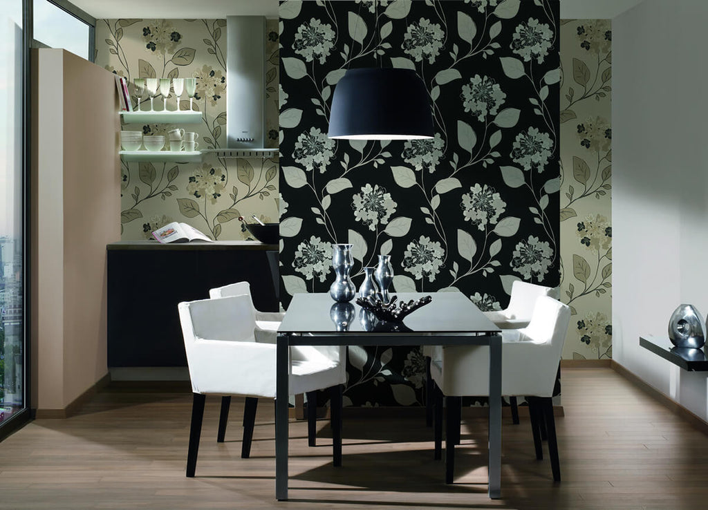 Floral Modern Nature Wallpaper design by BD Wall