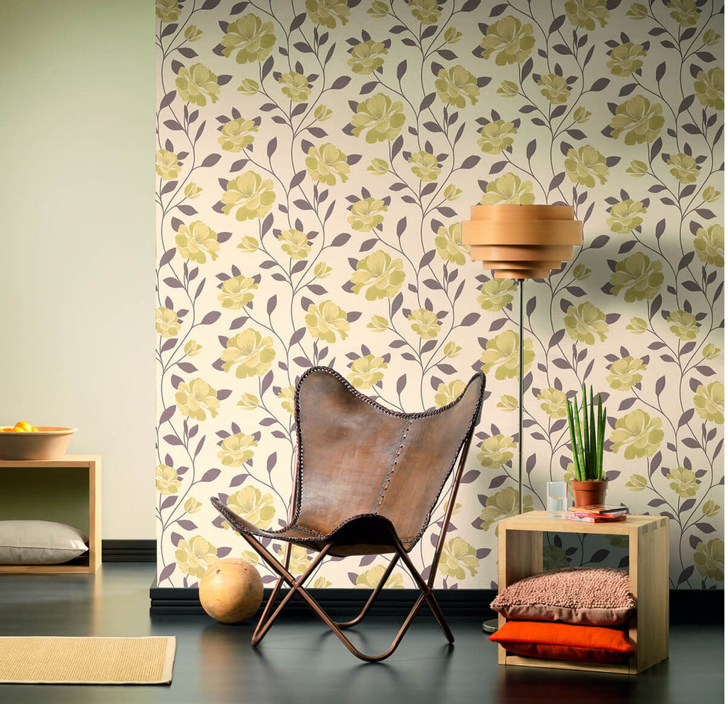 Floral Nature Wallpaper design by BD Wall