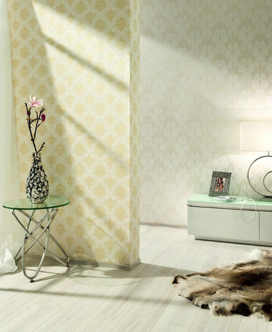 Floral Trellis Wallpaper design by BD Wall