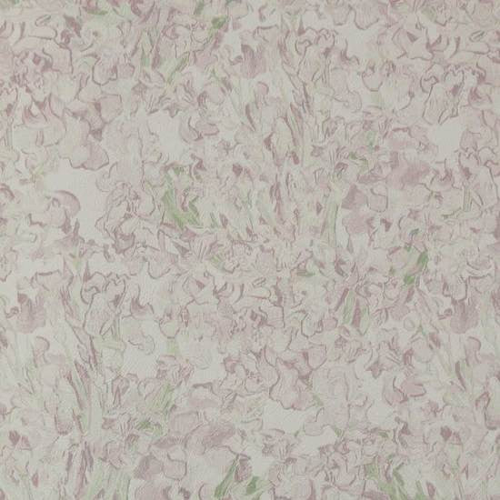 Floral Wallpaper in Light Pink from the Van Gogh Collection by Burke Decor