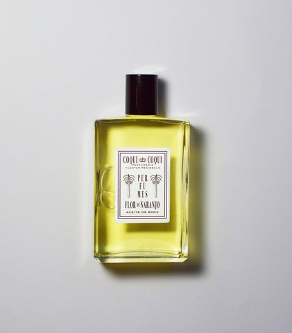 Flor De Naranjo Bath Oil by Coqui Coqui