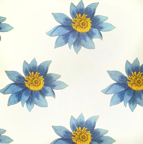 Sample Floria Wallpaper in Amelie by Abnormals Anonymous