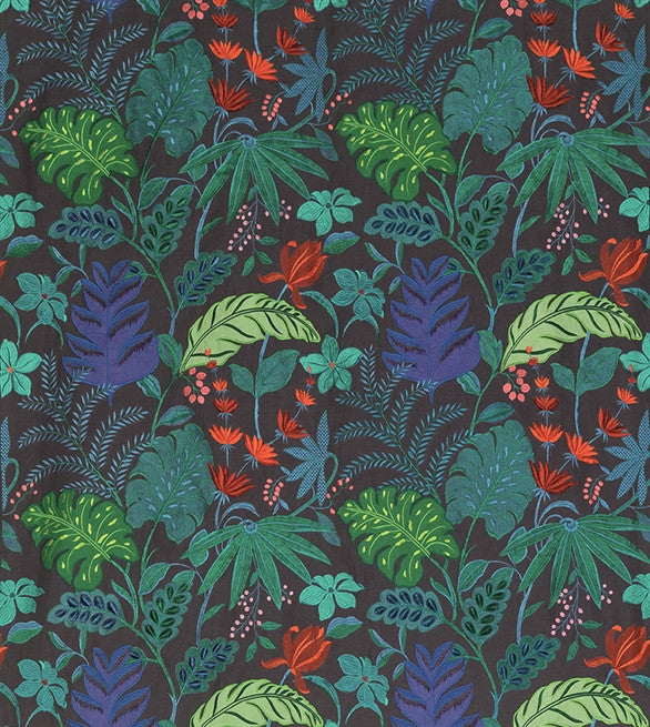 Floridita Fabric in Peacock and Electric by Matthew Williamson for Osborne & Little