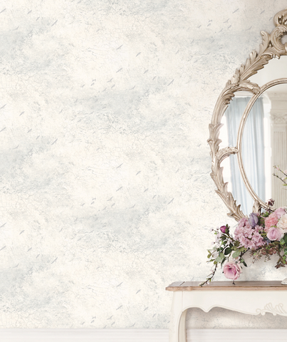 Fly North Wallpaper in Silver, Grey, and Cream from the Transition Collection by Mayflower