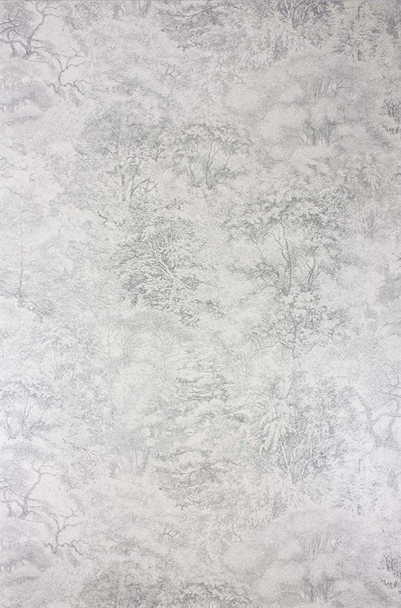 Folyo Wallpaper in Grey and Ivory Mica from the Pasha Collection by Osborne & Little