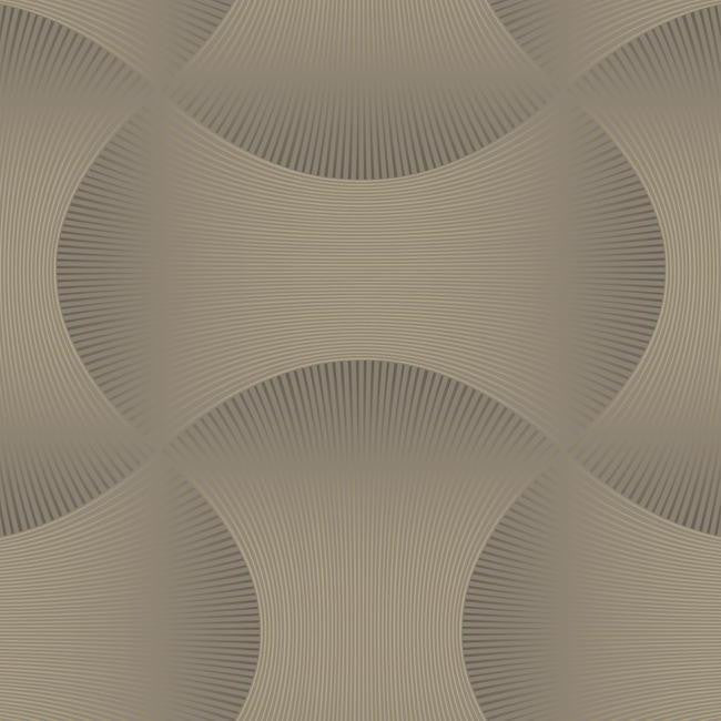 Sample Freestyle Wallpaper in Grey and Gold design by Candice Olson for York Wallcoverings