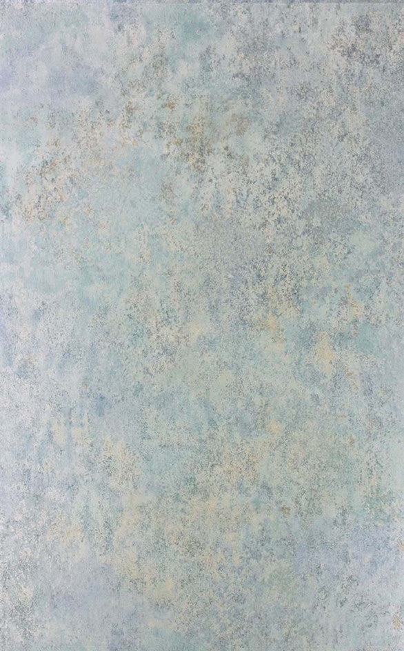 Fresco Wallpaper in Blue/Mint from the Enchanted Gardens Collection by Osborne & Little