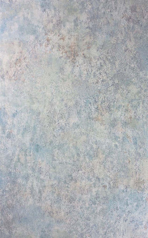 Fresco Wallpaper in Blue/Plaster from the Enchanted Gardens Collection by Osborne & Little