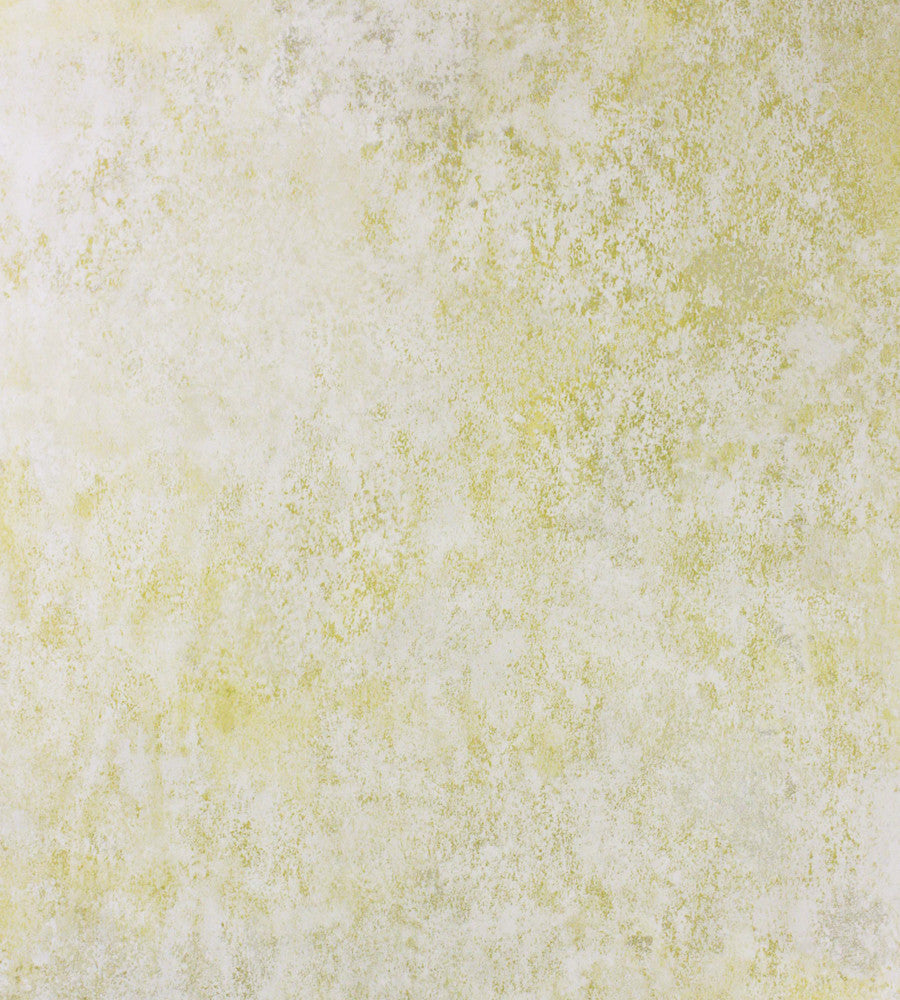 Fresco Wallpaper in Lemon from the Enchanted Gardens Collection by Osborne & Little