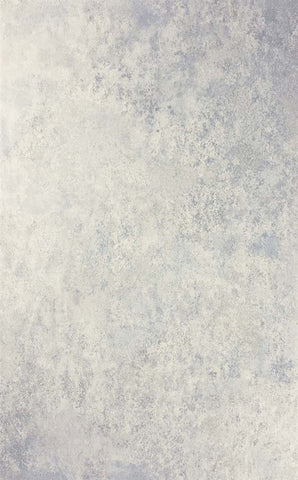 Fresco Wallpaper in Stone/Pale Blue from the Enchanted Gardens Collection by Osborne & Little