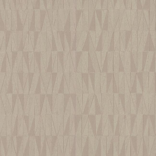Sample Frost Wallpaper in Beige and Brown from the Terrain Collection by Candice Olson for York Wallcoverings