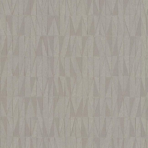 Frost Wallpaper in Grey Pearlescent from the Terrain Collection by Candice Olson for York Wallcoverings