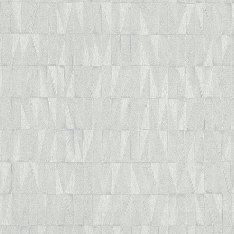Frost Wallpaper in Grey and Ivory from the Terrain Collection by Candice Olson for York Wallcoverings