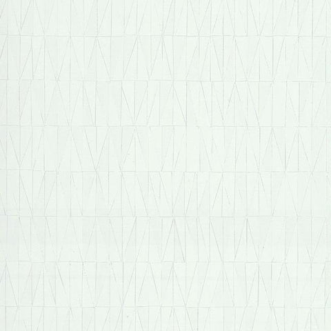Frost Wallpaper in White from the Terrain Collection by Candice Olson for York Wallcoverings