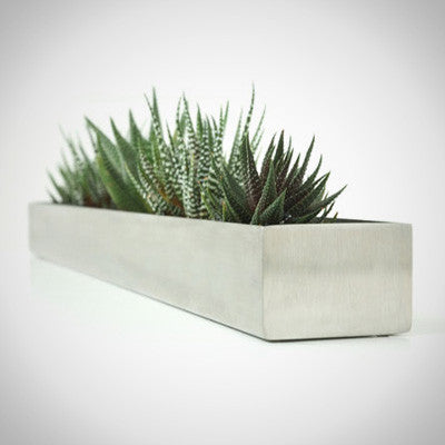 Stainless Steel Fruit Trough design by Gus Modern