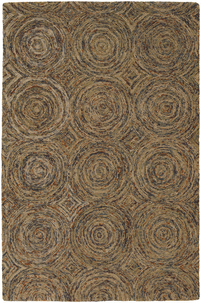 Galaxy Collection Hand-Tufted Area Rug in Multi-Color design by Chandra rugs