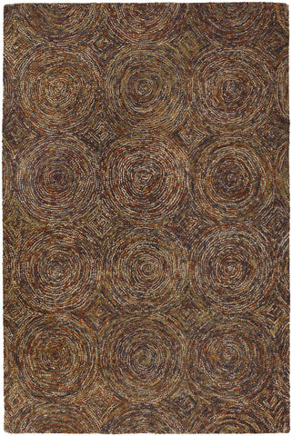 Galaxy Collection Hand-Tufted Area Rug in Multi-Color