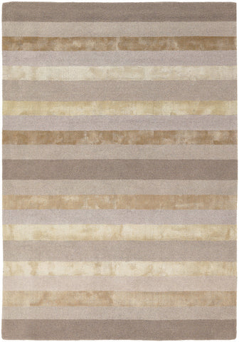 Gardenia Collection Hand-Tufted Area Rug in Beige & Taupe design by Chandra rugs