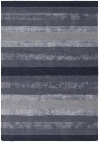 Gardenia Collection Hand-Tufted Area Rug in Charcoal & Grey design by Chandra rugs