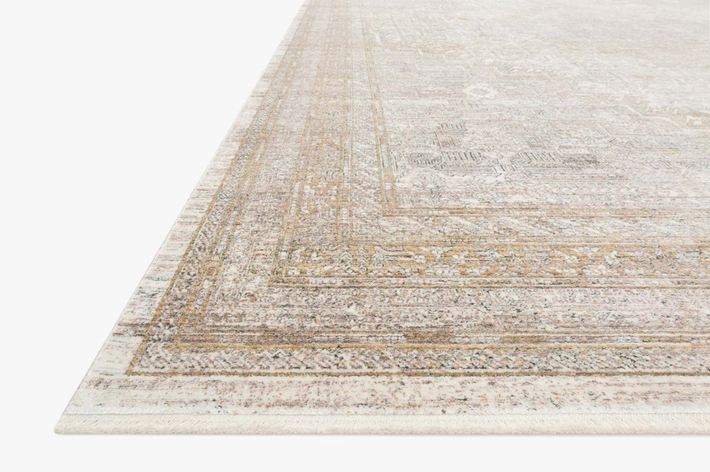 Gemma Rug in Sand & Ivory by Loloi