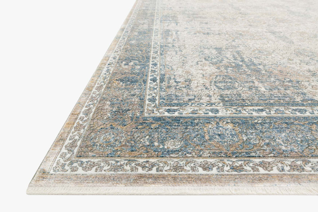 Gemma Rug in Sky & Ivory by Loloi