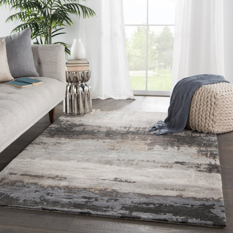 Genesis Benna Rug in Black by Jaipur Living