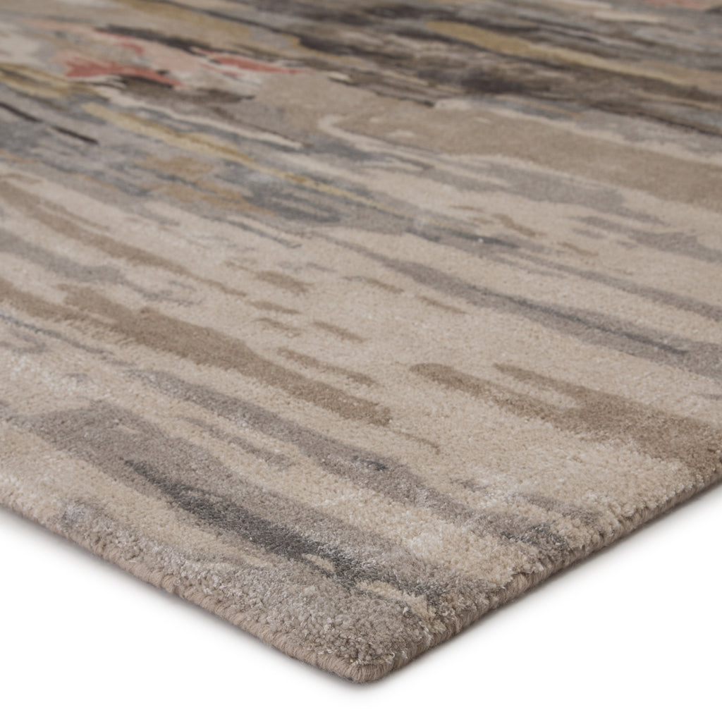 Ryenn Handmade Abstract Taupe/ Blush Rug by Jaipur Living