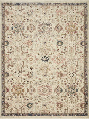 Giada Rug in Ivory / Multi by Loloi