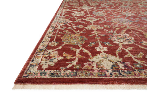 Giada Rug in Red / Multi by Loloi