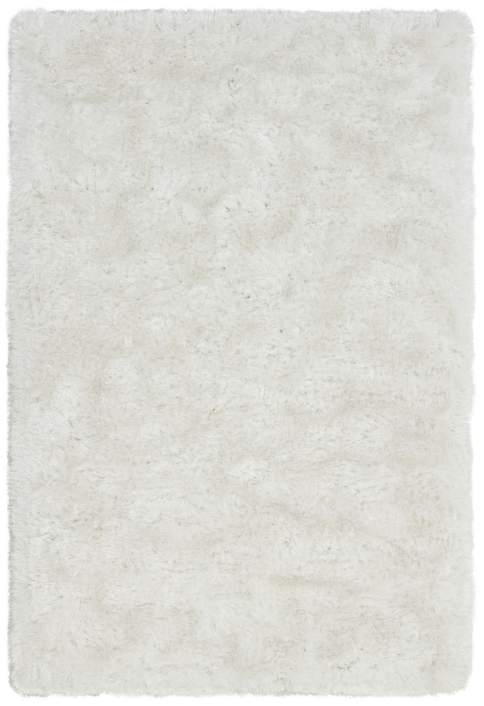 Giulia Collection Hand-Woven Area Rug in Ivory
