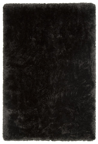 Giulia Collection Hand-Woven Area Rug in Charcoal