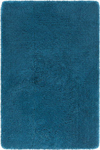 Giulia Collection Hand-Woven Area Rug in Blue