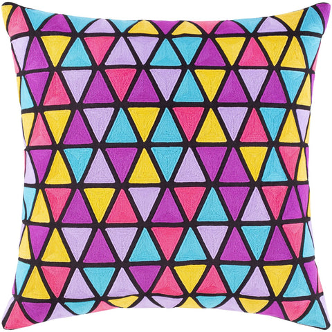 Geometry GMT-001 Woven Pillow in Multi-Color by Surya