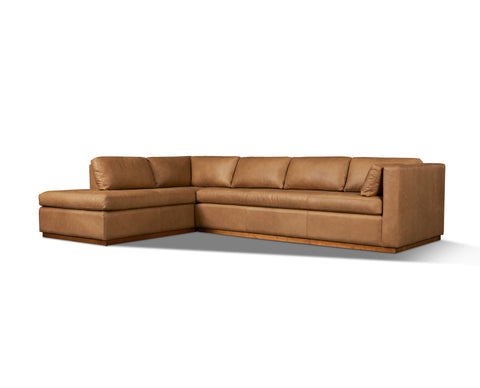 Goldenrod Arm Left Sectional