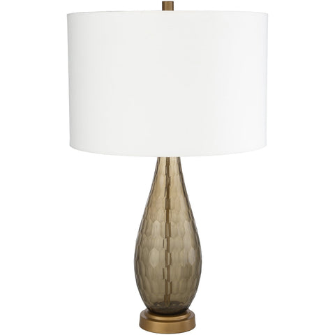 Glasshouse GSH-004 Table Lamp in Grey & Off-White by Surya