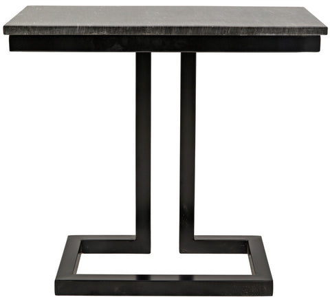 Alonzo Side Table in Various Colors by Noir