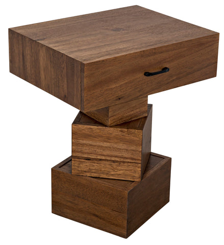 Grobius Side Table by Noir