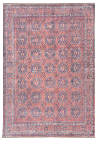 Shelta Oriental Blue/ Red Area Rug by Jaipur Living