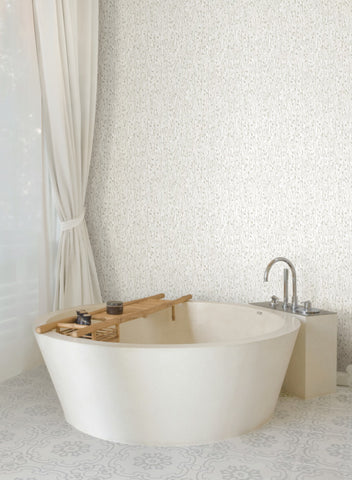 Gala Wallpaper from the Terrain Collection by Candice Olson for York Wallcoverings
