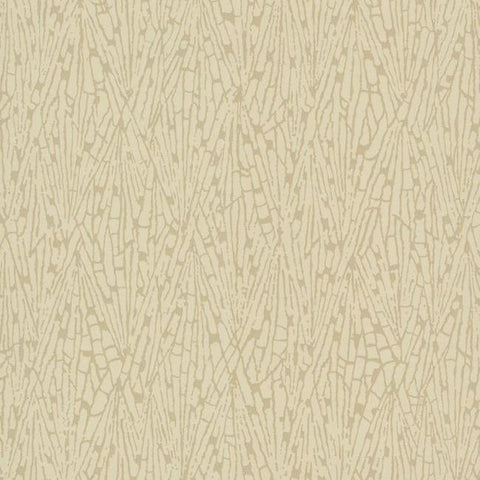 Gala Wallpaper in Beige and Brown from the Terrain Collection by Candice Olson for York Wallcoverings