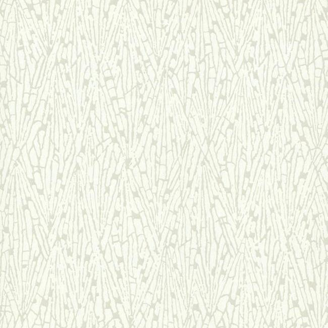 Gala Wallpaper in Ivory and Grey from the Terrain Collection by Candice Olson for York Wallcoverings