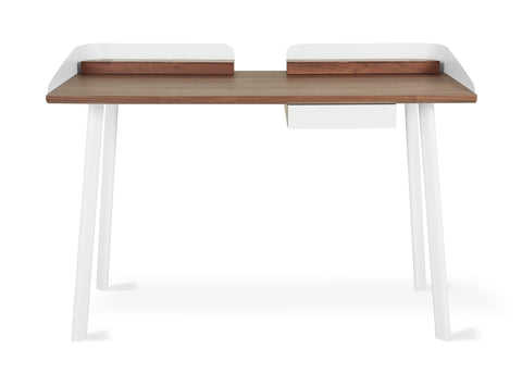 Gander Desk in Walnut & White design by Gus Modern