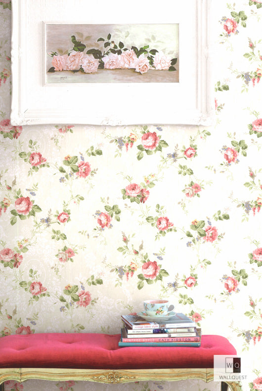 Garden Trail Wallpaper from the Spring Garden Collection by Wallquest