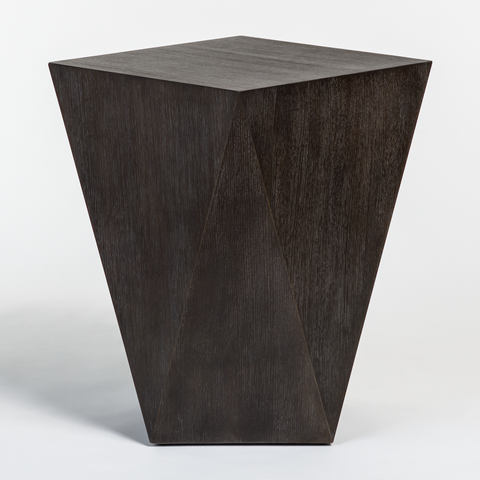 Gavin Accent Table in Brushed Carbon